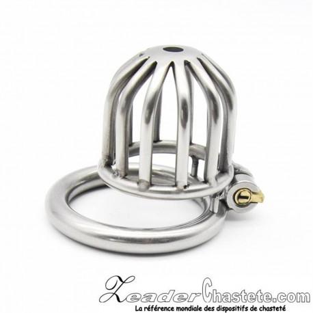 Cage de chasteté CB300 métal Ring 40mm