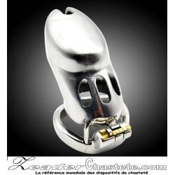 Cage de chasteté CB 6000 luxe anneau Ergonomique