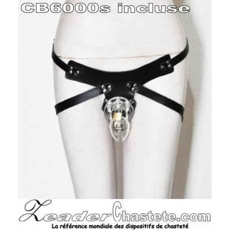 La ceinture de chasteté AVEC une CB6000s
