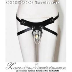 La ceinture de chasteté AVEC une CB6000